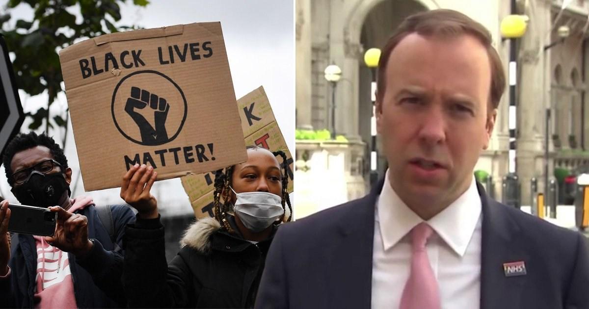 Matt Hancock denies UK is racist amid Black Lives Matter protests