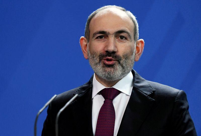 Armenian PM sacks army, police and security chiefs over covid-19 curbs