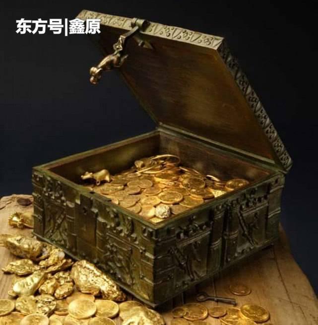 美富翁称把宝藏都藏在深山中,结果有人找到价值百万美元藏宝箱!