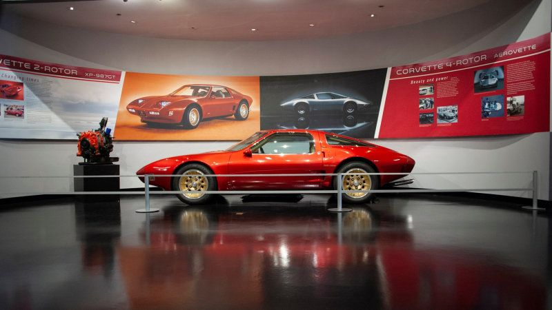 Renovated Corvette Museum reopens today with mid-engine exhibit