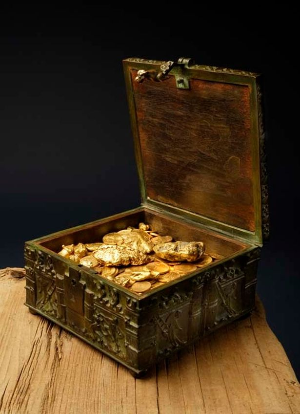 Author's $1million treasure chest filled with gold and gems found in Rocky Mountains