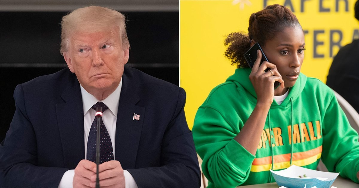 Donald Trump's only liked tweet is about Issa Rae's latest Insecure episode and she was as confused as us