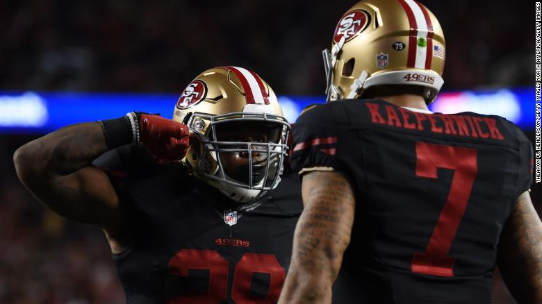 The NFL should re-sign Colin Kaepernick, says Seattle Seahawks running back Carlos Hyde