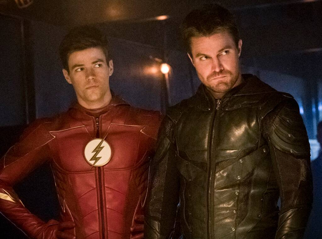 The Flash's Grant Gustin and Stephen Amell Speak Out After Co-Star Hartley Sawyer Is Fired