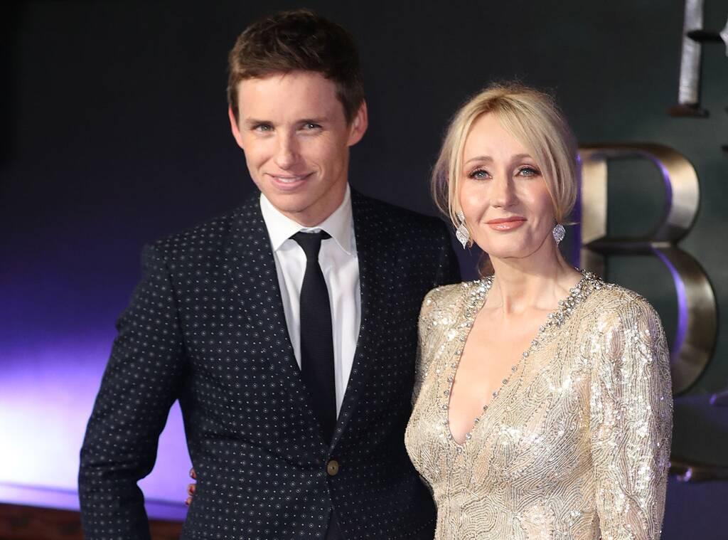 Fantastic Beasts Star Eddie Redmayne Addresses J.K. Rowling's Controversial Tweets