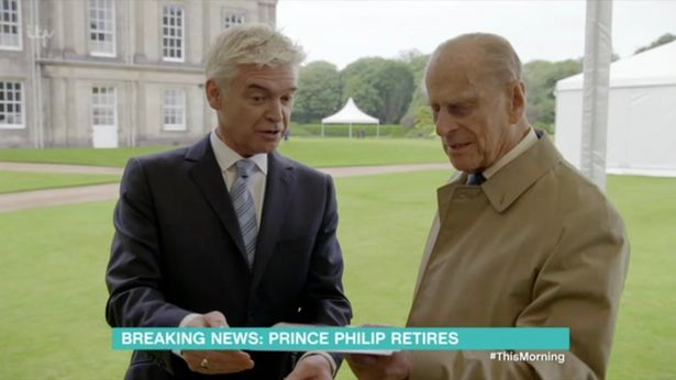 Phillip Schofield recalls Prince Phillip calling him an 'idiot' during awkward interview