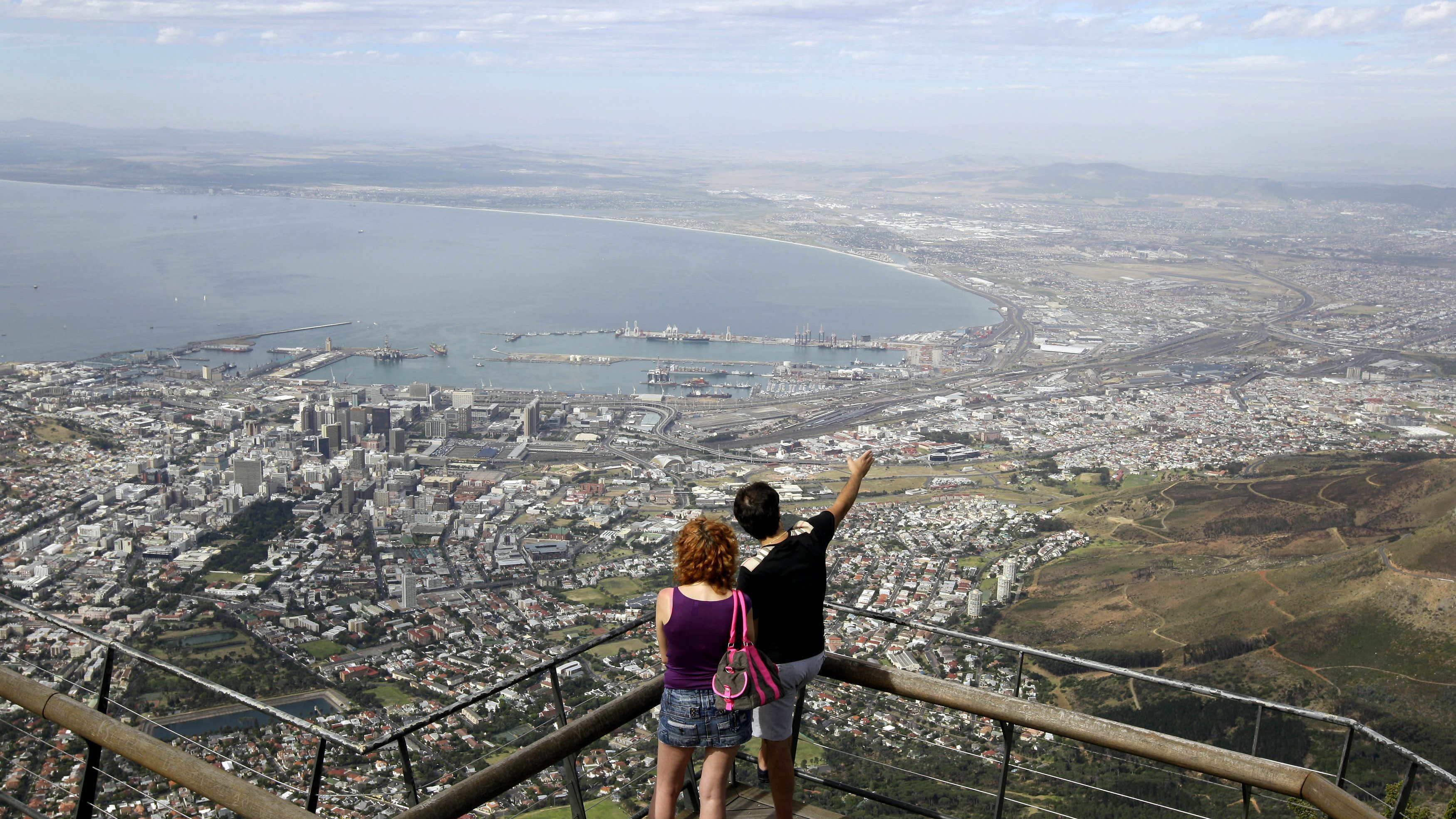 South Africa is working on a plan to decide which countries' tourists to allow visit