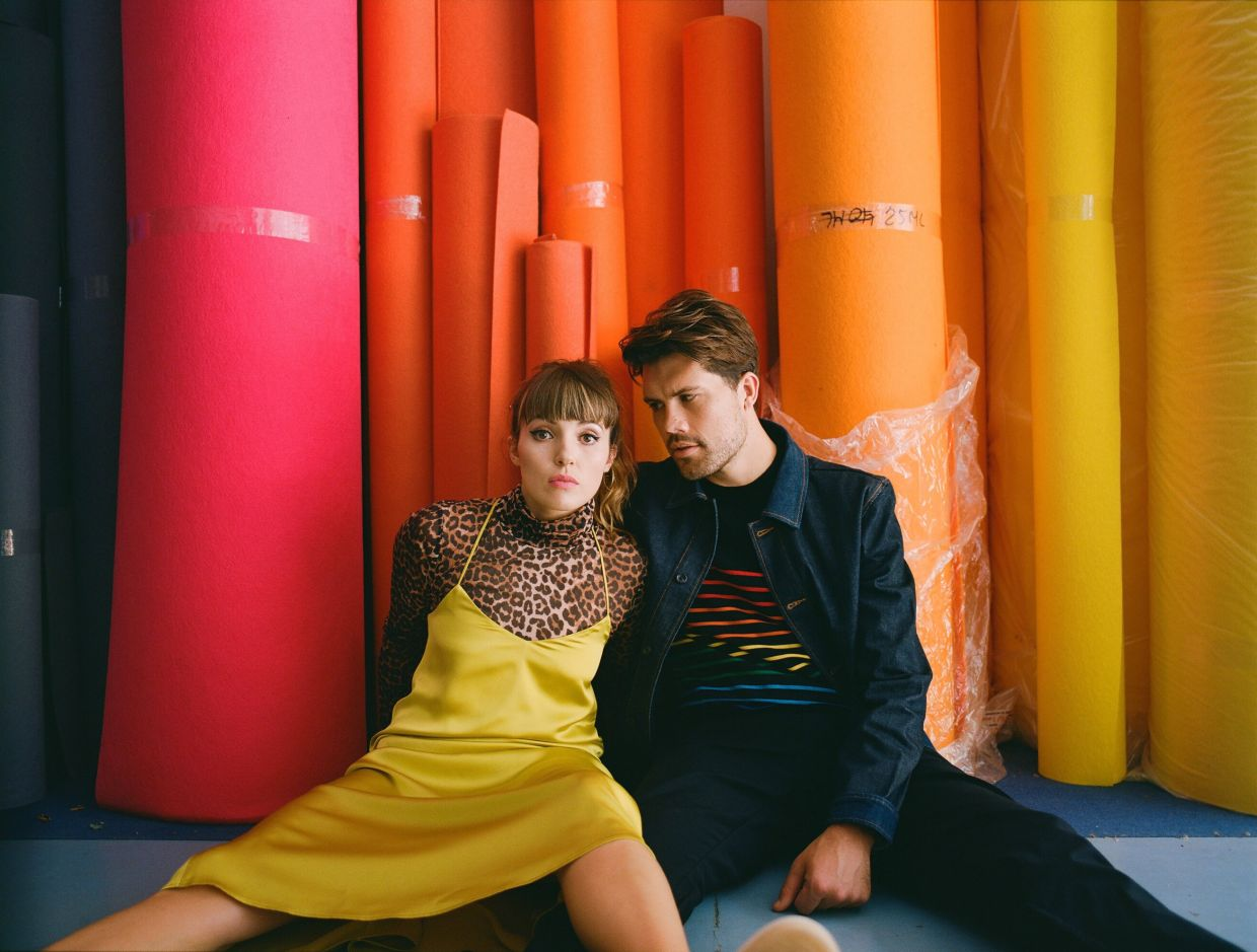 After touring non-stop for years, British duo Oh Wonder glad to stay home