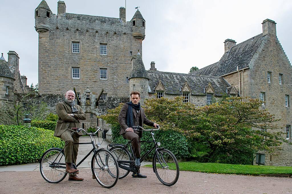 Outlander Stars Sam Heughan and Graham McTavish Are Men in Kilts for New Travel Series