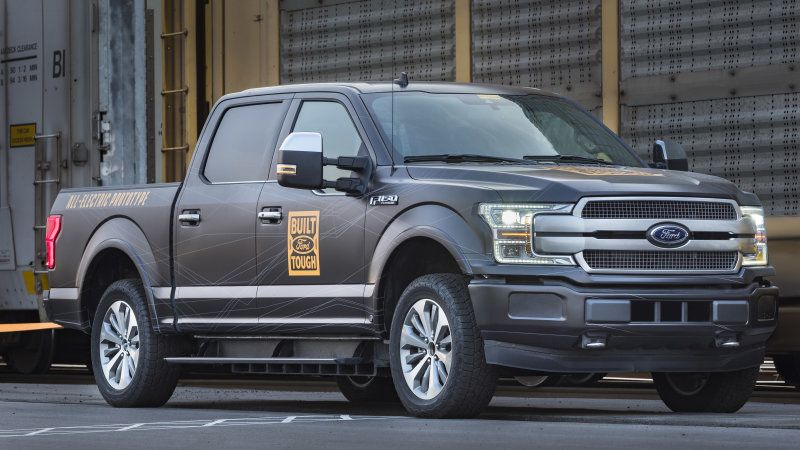 Electric Ford F-150 and Transit EV coming 'within 24 months'
