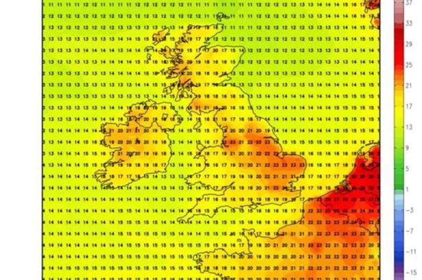UK weather: Met Office warnings of torrential rain today but scorching weekend ahead