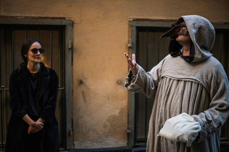 Stockholm guide offers covid-weary swedes a tour of pandemics past