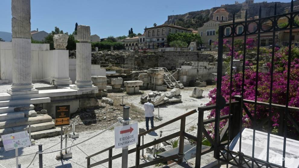 Greece reopens for tourists, but UK flights barred for now