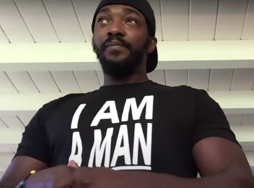 Anthony Mackie Tears Up While Sharing Powerful Message About Voting