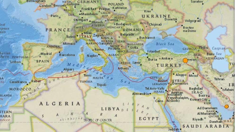 Earthquake in eastern Turkey kills one, injures nine