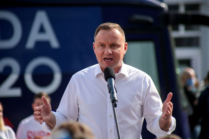 Polish President says foreign media took lgbt comments 'out of context'