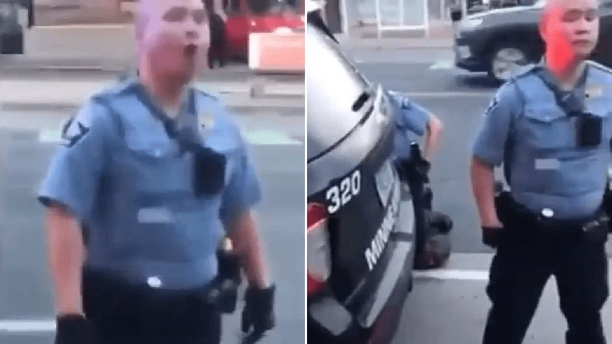 Horrific new video shows police ignoring bystanders' pleas as cop knelt on George Floyd's neck