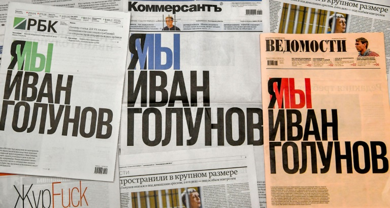 Top Russia newspaper editors quit, denouncing censorship