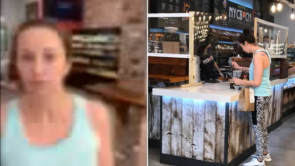 Maskless woman coughs on customer at NYC bagel shop amid ongoing Covid-19 crisis