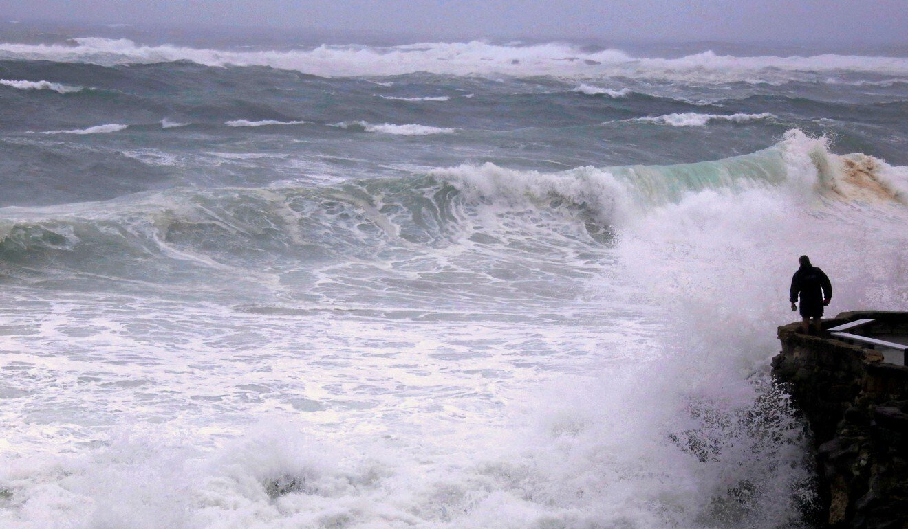Bigger and more frequent monster waves in Southern Ocean threaten to gobble up coastlines amid climate change