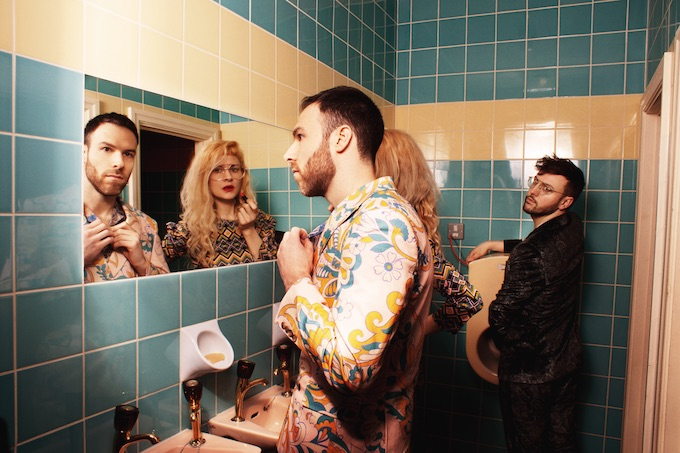 """Premiere: Wash Away The Pain With Dance Lessons' Leftfield Pop Number """"New Job"""""""