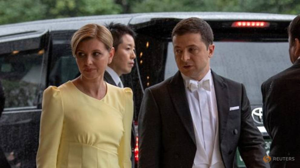 Ukraine president's wife hospitalised after contracting COVID-19