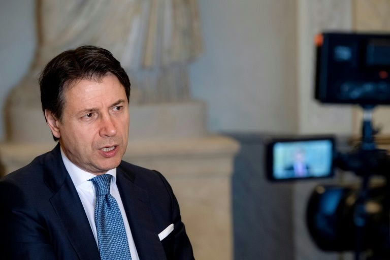 Italy's conte says eu virus recovery funds will be spent wisely