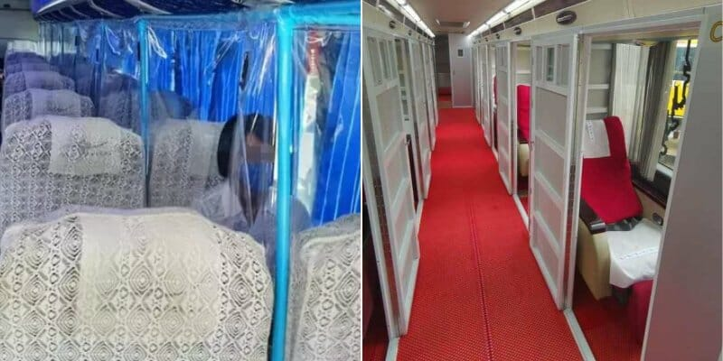 Express Bus Companies Are Using Cabins To Promote Social Distancing In Buses