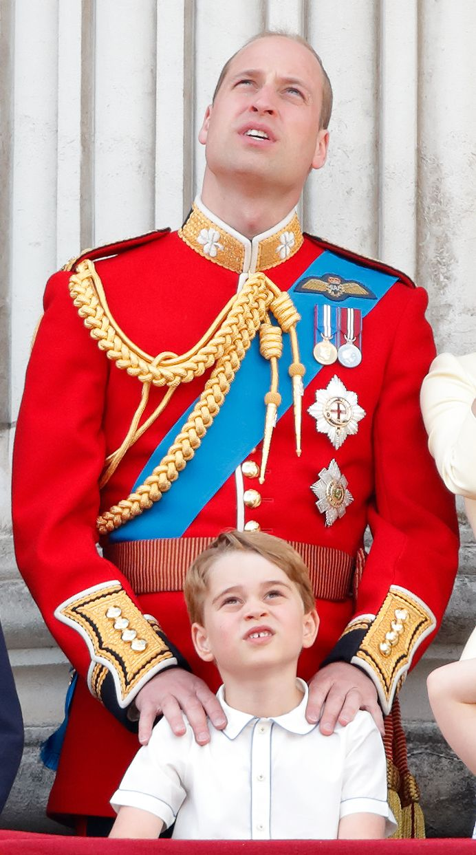 Prince William reveals one of Prince George's favourite TV shows in call with five-year-old cystic fibrosis sufferer
