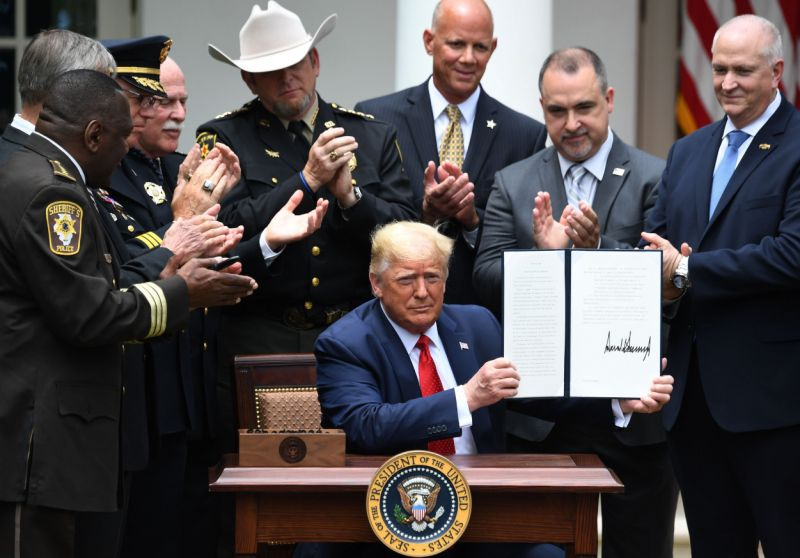 'Woefully inadequate': trump order falls short of broader push to curb cop abuse