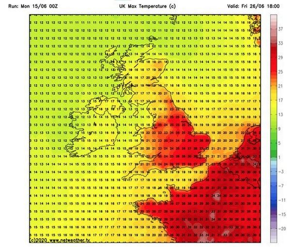 UK weather forecast: Scorching July heatwave ahead with 28C by the end of June