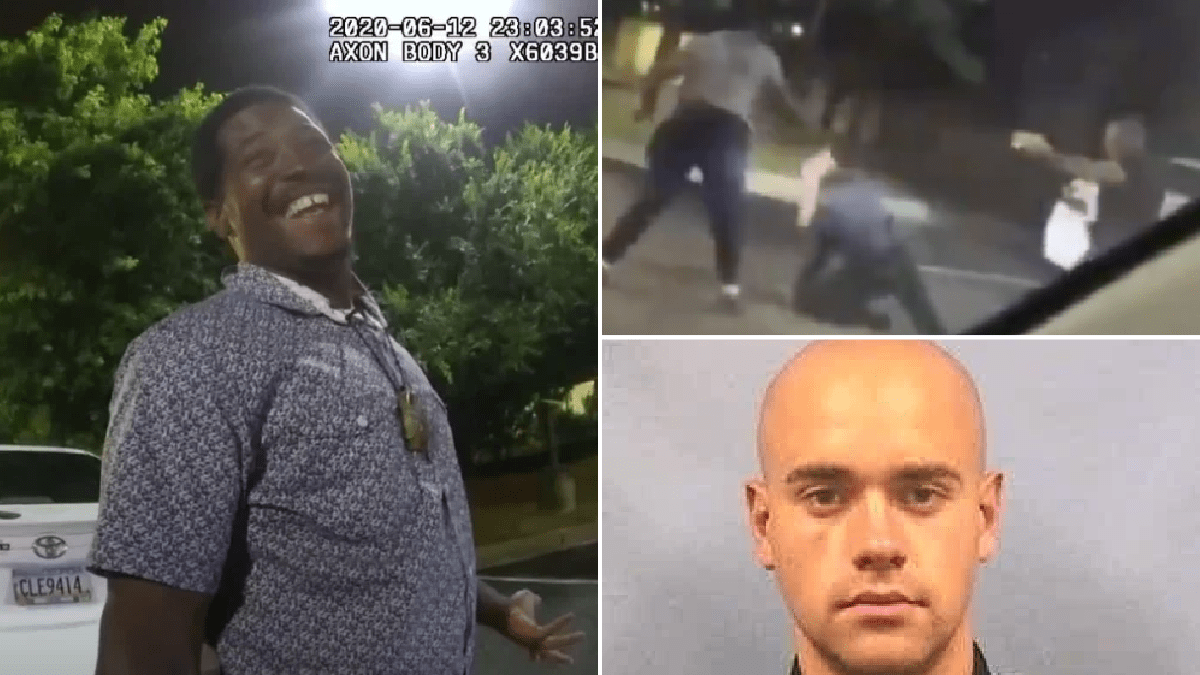 White cop Garrett Rolfe charged with killing Rayshard Brooks