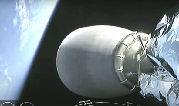 SpaceX launch mystery: NASA video feed CUTS OUT seconds after sighting of UFO closing in