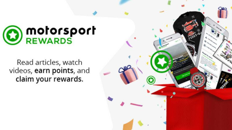 Motorsport Network rolls out a rewards program for the world's largest motorsport and car fans community