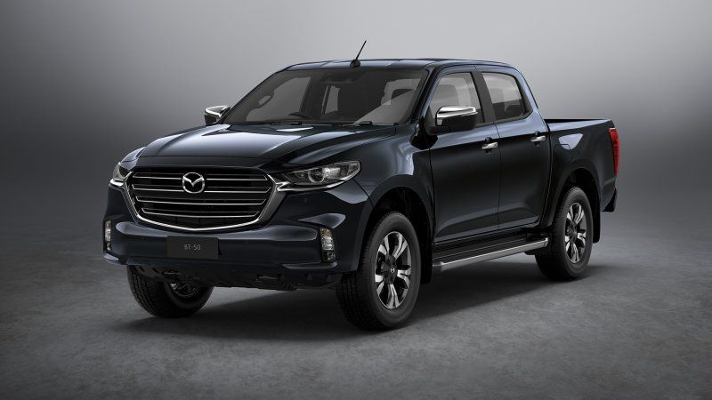 Yes, the Mazda BT-50 pickup is real. No, you can't get one.
