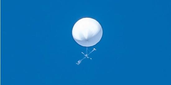 神秘白球在日本上空停留 政府:正在警戒和监视