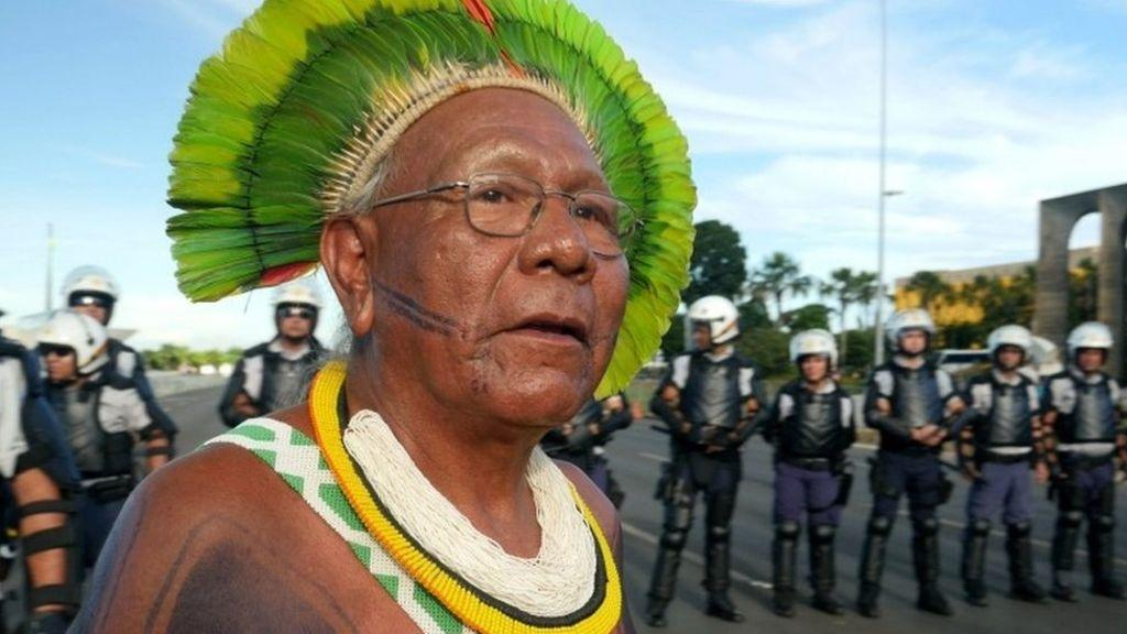 巴西新冠病毒蔓延至亚马逊丛林 原住民领袖因新冠肺炎去世