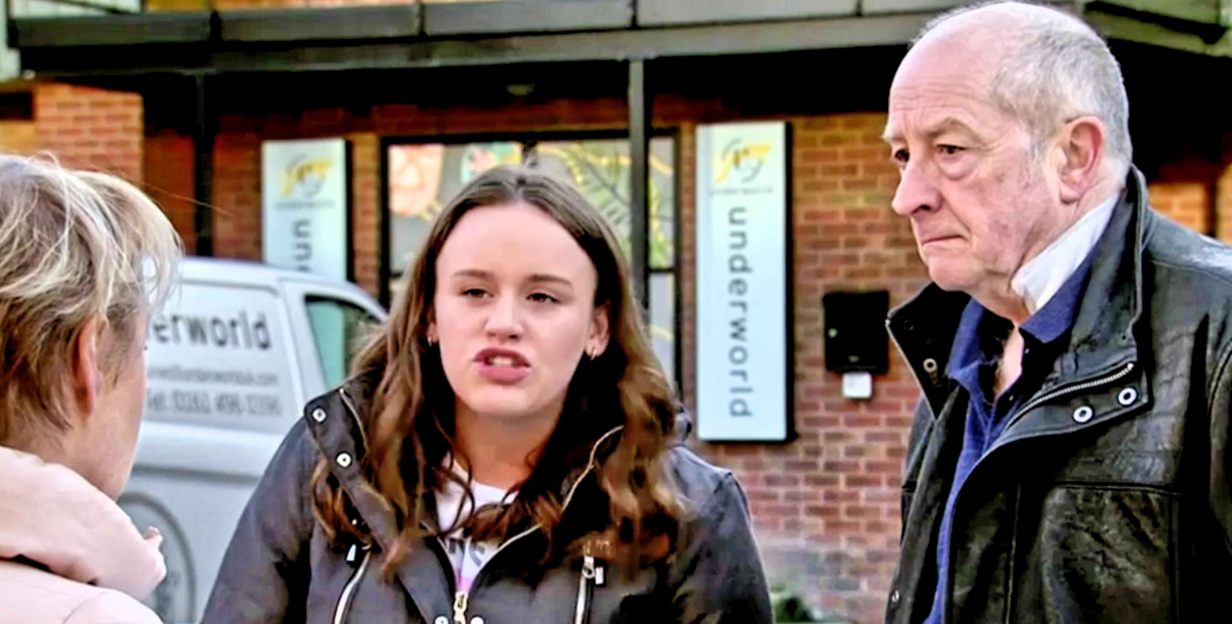 Coronation Street spoilers: Geoff Metcalfe turns Faye Windass against Sally in sick revenge twist