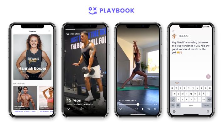 Playbook, a creator platform focused on fitness, raises $3 million in seed