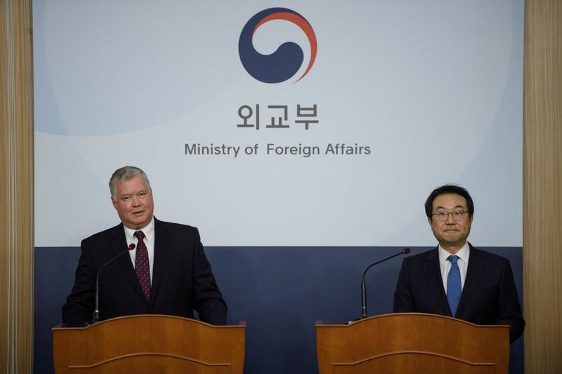 South Korea's nuclear envoy visits U.S. As tensions flare with North Korea
