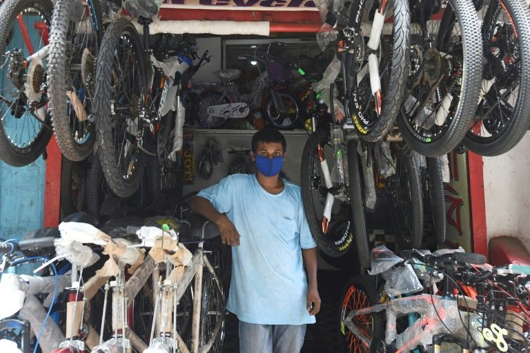 Virus fears fuel bicycle sales in congested Bangladesh cities