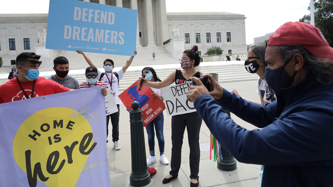 Supreme Court Rejects Trump's Bid to End DACA Program Protecting Undocumented Immigrants