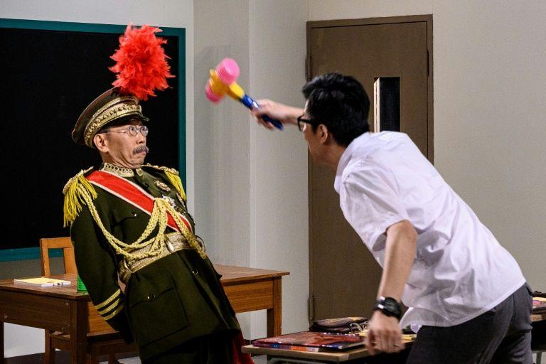 Curtain falls on Hong Kong's oldest satirical tv show