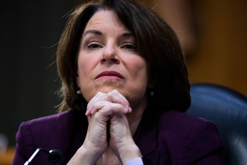 Amy klobuchar withdraws from vp search, says biden should select woman of color