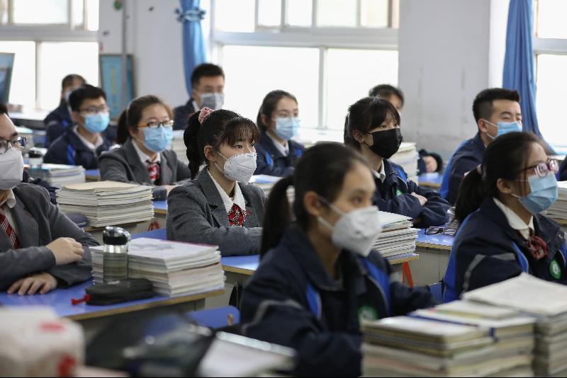 中国今年高考设隔离考场‧中高风险区全程戴口罩
