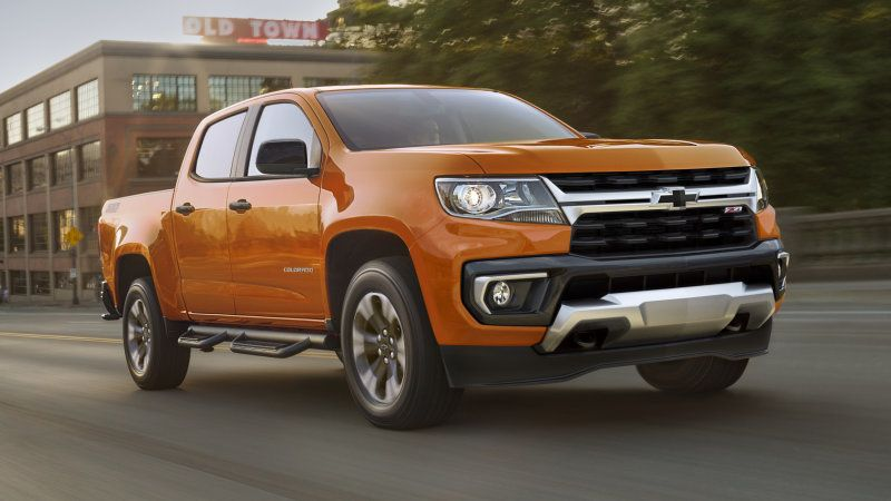 2021 Chevy Colorado revealed in more basic trim levels