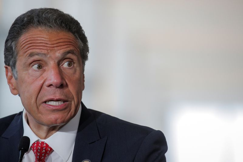 Cuomo slams federal government for coronavirus response