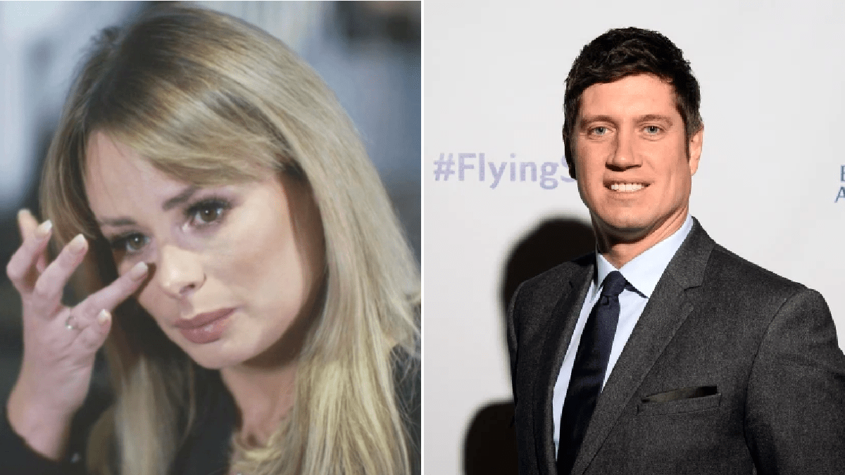 'I don't care if he sees me crying': Rhian Sugden isn't bothered if Vernon Kay sees her breaking down over texting scandal