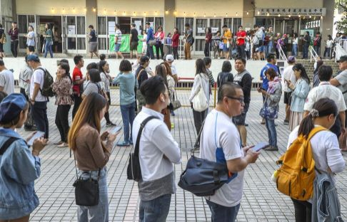 Hong Kong election authority rejects government's special-queue proposal for vulnerable voters