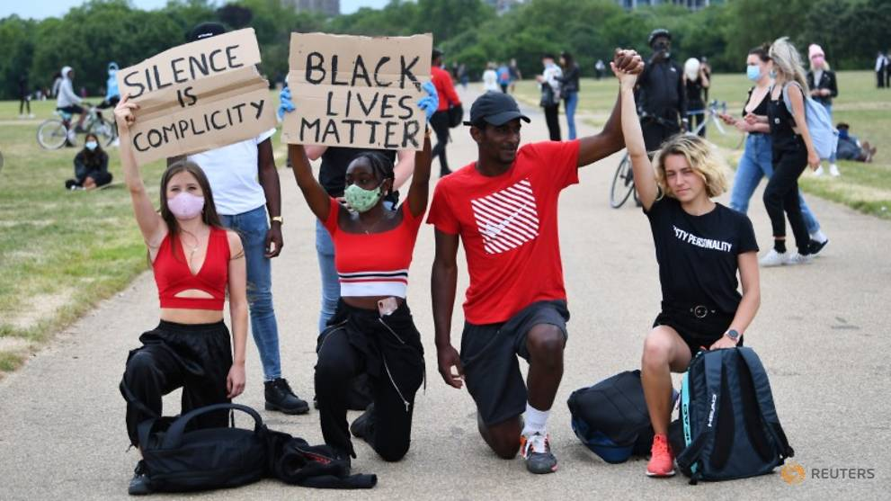 Leader of London Black Lives Matter protests demands meeting with Johnson